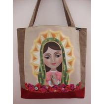 Bolsa Ita Design Virgen De Guadalupe Diseño Mexicano