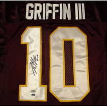 Jersey Autografiado Robert Griffin 3 Washington Redskins Nfl
