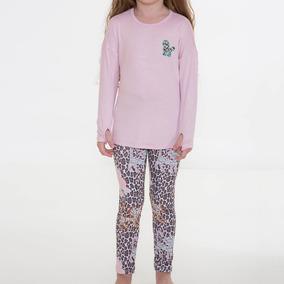 Pijama Infantil Feminino Recco 08161 Original+nota Fiscal