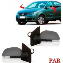 Par Retrovisor Polo + Seta 2007 2008 2009 2010 2011 Eletrico