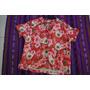 Camisa Hawaiana De Mujer Importada Modelo Unico C 1825