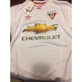 Camiseta Liga Deportiva Universitaria Quito 2016 Blanca