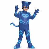 Disfraz Pj Mask Catboy Heroes En Pijamas Original Ilumina
