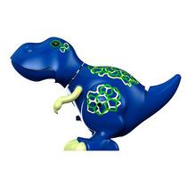 Dinossauros Rugem E Cantam T - Rex Azul Troy Dtc 3681
