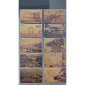 Coleção Cartões Telefônicos-série Fotografia Brasil Séc Xix