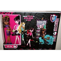 Juguete Exclusivo Monster High Clawdeen Wolf Y Draculaura A