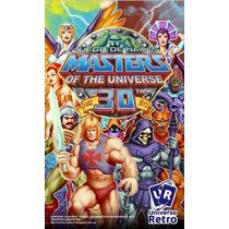 Cartas Match 4 He-man Naipes Coleccionables Motu Universo