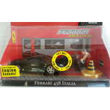Juguete Niño Ferrari 458 Italia 1/43 Luz Y Sonido Burago