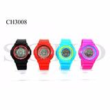 Reloj Unisex Marca Soho Deportivo Digital Ch3008