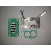 Flange Carburador Brosol Solex H34 Seie Solecão Para 2e E 3e