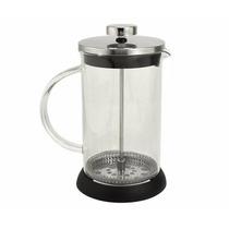 Cafetera Embolo 1 Litro Vidrio Templado Acero Diseño Oferta