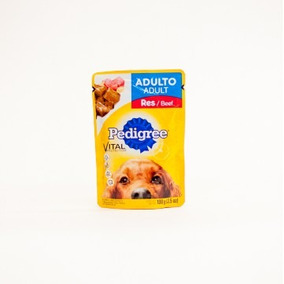 Alimento Perros Pedigree Adulto Sabor Res En Sobre. +kota
