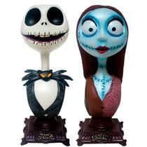 Bustos De Jack Y Sally Del Pelicula El Extraño Mundo De Jack