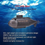 777-216 Mini Rc Racing Barco Submarino R/c Juguetes Con