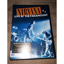 Dvd Nirvana: Live At The Paramount (lacrado)