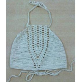 Crop Top Tejidos Crochet