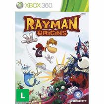 Rayman Origins Xbox 360 Original E Lacrado | Rcr Games