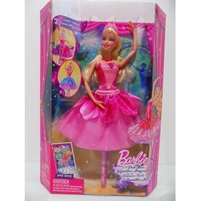 Boneca Barbie Bailarina E As Sapatilhas Mágicas - Novo