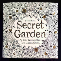 Libro Para Colorear Contra Stress Secret Garden 96 Pag