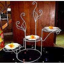 Porta Tortas En Hierro - Ideal Candybar, Cumpleaños!