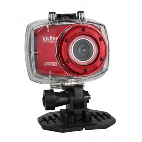 Câmera Esportiva Full Hd / Vermelha - Vivitar - Dvr 787hd