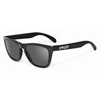 Oakley Frogskins Polished Black W/ Grey