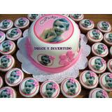 Mini Torta + 24 Minicupcakes Con Foto Comestible!