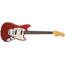 Guitarra Electrica Fender Mustang 65 + Cuerdas 12 Cuotas