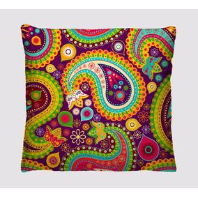 Kit 6 Almofadas Decorativas Coloridas Para Sofá