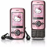 Sony Ericsson W395 Hello Kitty Câmera 2.0mp Mp3 Rádio Fm