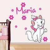 Adesivo Decorativo Gatinha Marie (070x075)cm