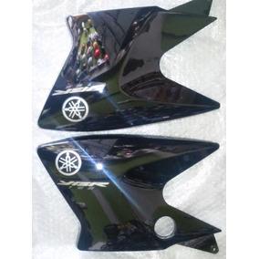 Abas Do Tanque Yamaha Factor 2010 Preta Com Adesivos