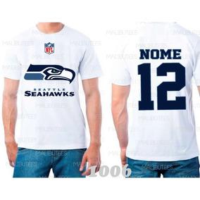 745e8636a Luva Futebol Americano Seattle Seahawks - Camisetas e Blusas no ...