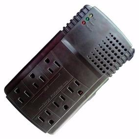 Regulador De Voltaje Protector 6 Tomas 110v Computadora, Tv