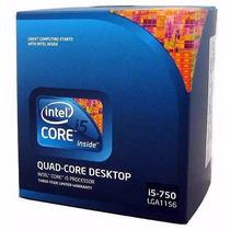 Processador Intel® Core I5-750 8m Cache, 2.66 Ghz Lga 1156