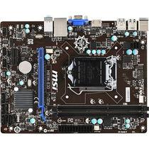 Msi H81m-e33 Micro Atx Desktop Motherboard, Tarjeta Madre
