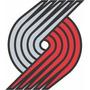 Adesivo Portland Trail Blazers Nba 5cm - Frete Grátis