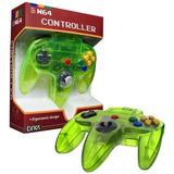 N64 Cirka Controller Cyanine Green