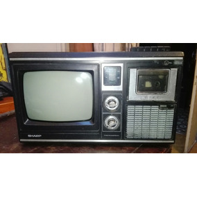 Radio Y Tv Antiguo Sharp