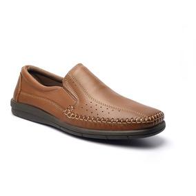 Sapato Mocassim Masculino Em Couro Jcl 11029 Di Pollini