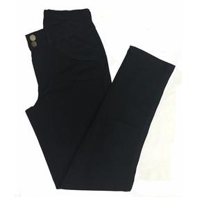 Calça Feminina Strech Preta Plus Size Tamanho Grande 44 - 60