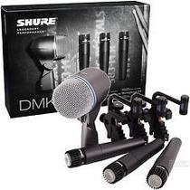 Shure Dmk57-52 Set De Mics Para Bateria, Original, Garantia