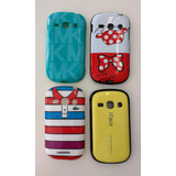 Kit Capa Para Celular Samsung Galaxy Fame S6810 Com 4 Unid.