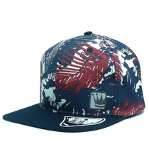 Boné Tom Hill Snapback Feathers Azul