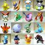 24 Mini Bonecos Pokemon Miniaturas Coleção Pikachu Go Ash