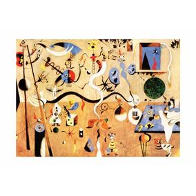 Poster Auto Colante - Arte Joan Miró ( 64cm X 90cm)