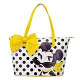 Bolsa Minie Mouse Signature Fashion Luxo Disney Store