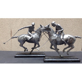 Regalos Empresariales Lámpara Caballos Polo Carrera Criollo