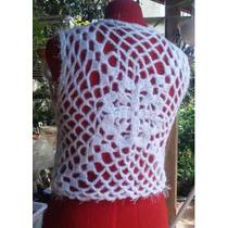 Chaleco Tejido Crochet Artesanal