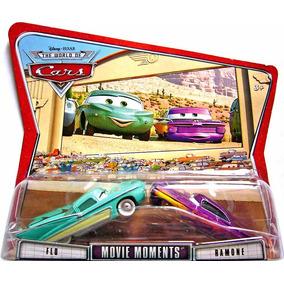 Disney Cars Flo & Ramone (roxo) Mattel Mcqueen Filmore Mater